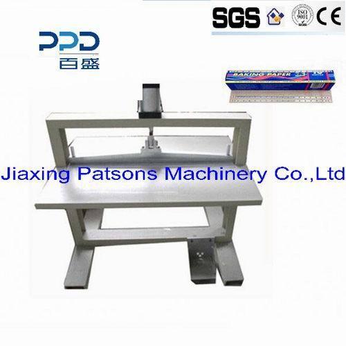 Aluminium Foil Roll Sawtooth Binding Machine
